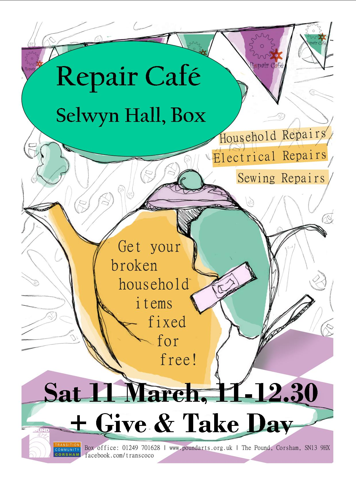 Repair Cafe + Give & Take Day