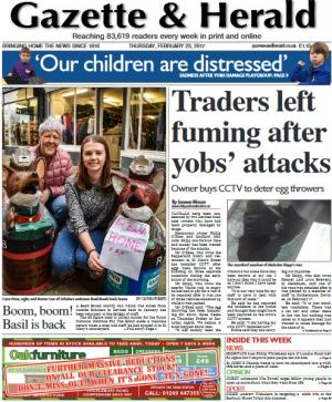The Wiltshire Gazette and Herald: Traders are fed up with being subjected to attacks. More here