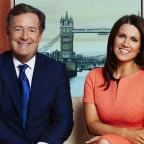 The Wiltshire Gazette and Herald: Susanna Reid wishes happy birthday to 'irritating, divisive' Piers Morgan