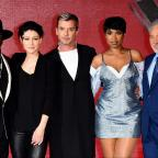 The Wiltshire Gazette and Herald: The Voice UK judges and contestants get all dressed up for final launch