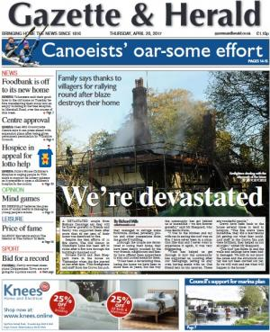 The Wiltshire Gazette and Herald: Don't miss this week's Gazette and Herald