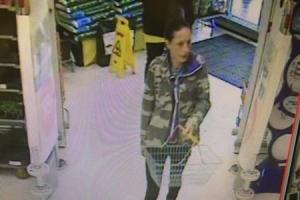A woman police want to speak to in connection with purse theft from elderly victim