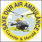 The Wiltshire Gazette and Herald: Air Ambulance Logo