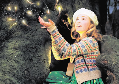 Charlotte Broom as Edie in Faeries at the egg theatre at the Theatre Royal Bath
