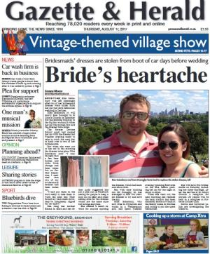 The Wiltshire Gazette and Herald: Don't miss this week's packed Gazette & Herald