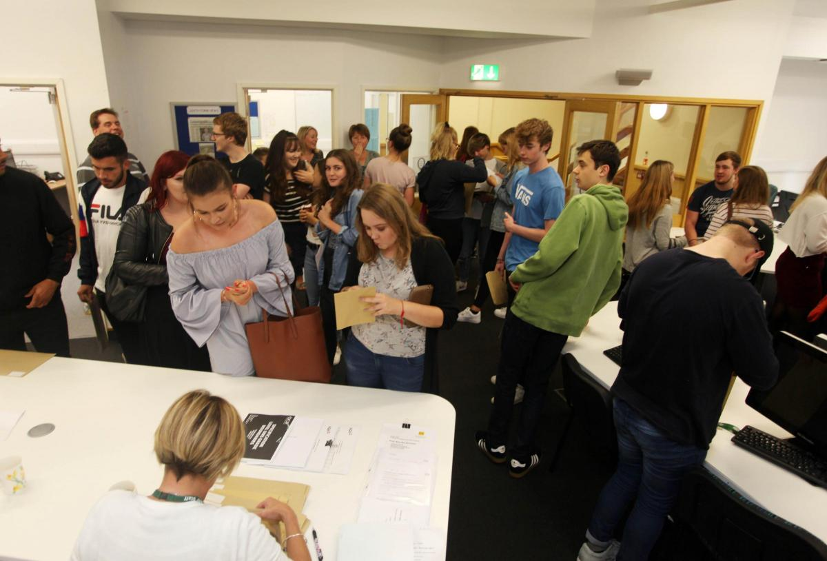 Record breaking A level results celebrated at Devizes School From