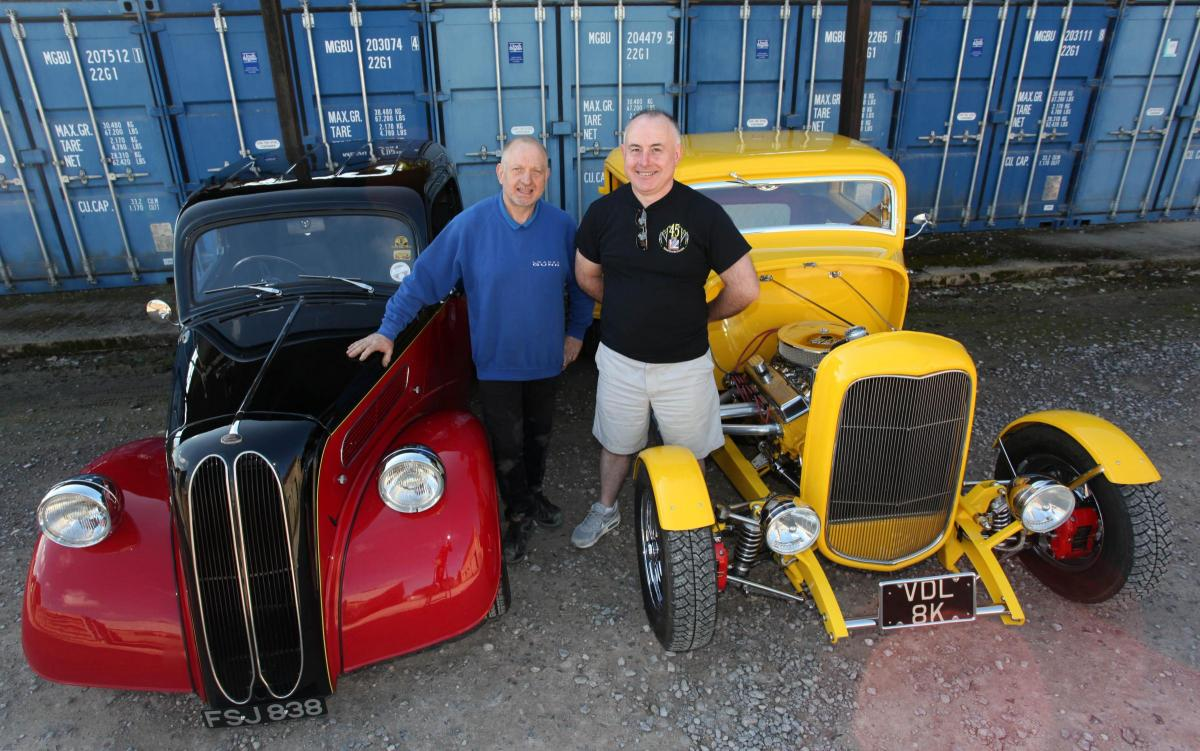 Hot Rod enthusiasts from Chippenham showed off their renovated ...