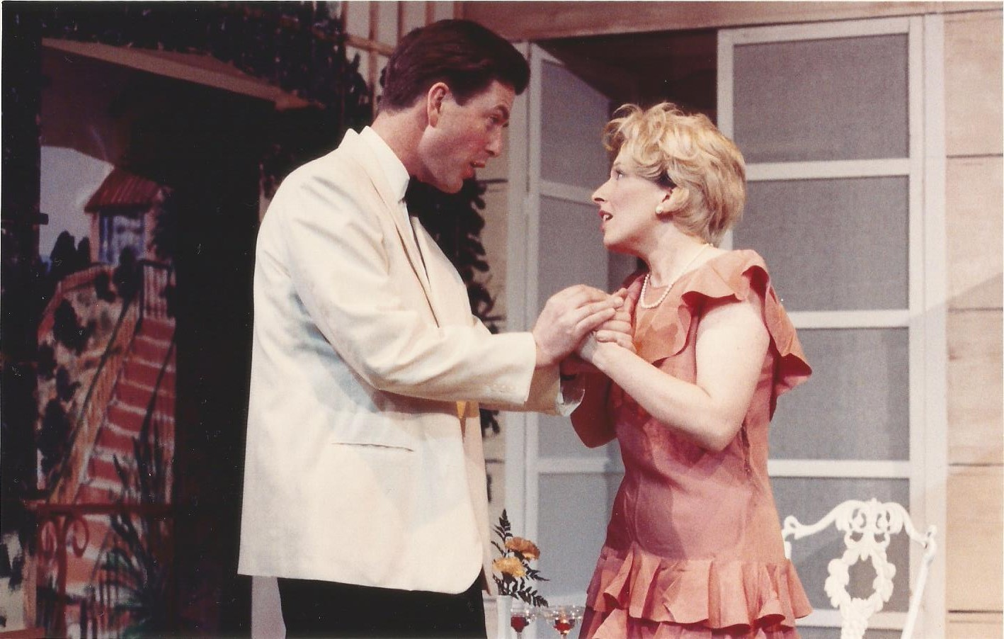 David Bache and Lorraine Smith in Private Lives, 1993