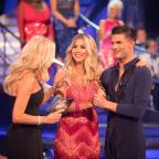 The Wiltshire Gazette and Herald: Strictly stars deal with nerves and sleepless night ahead of first live show (Guy Levy/BBC/PA)