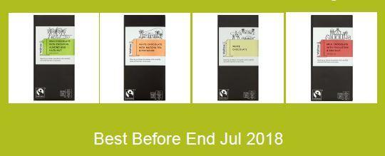 Waitrose is recalling these bars of chocolate