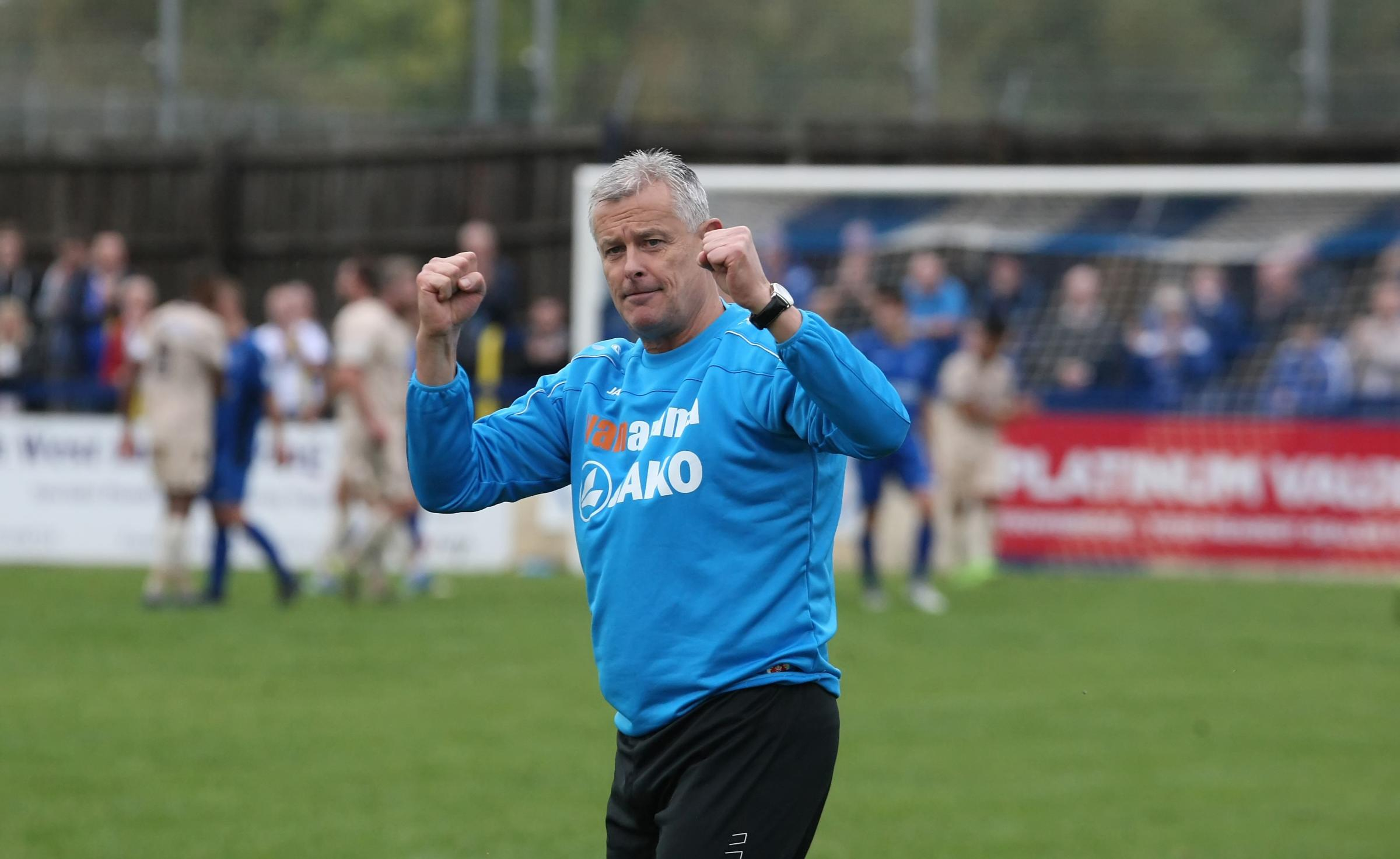 Chippenham Town boss Mark Collier.