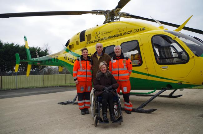 Upton Scudamore pair urge others to support Wiltshire Air
