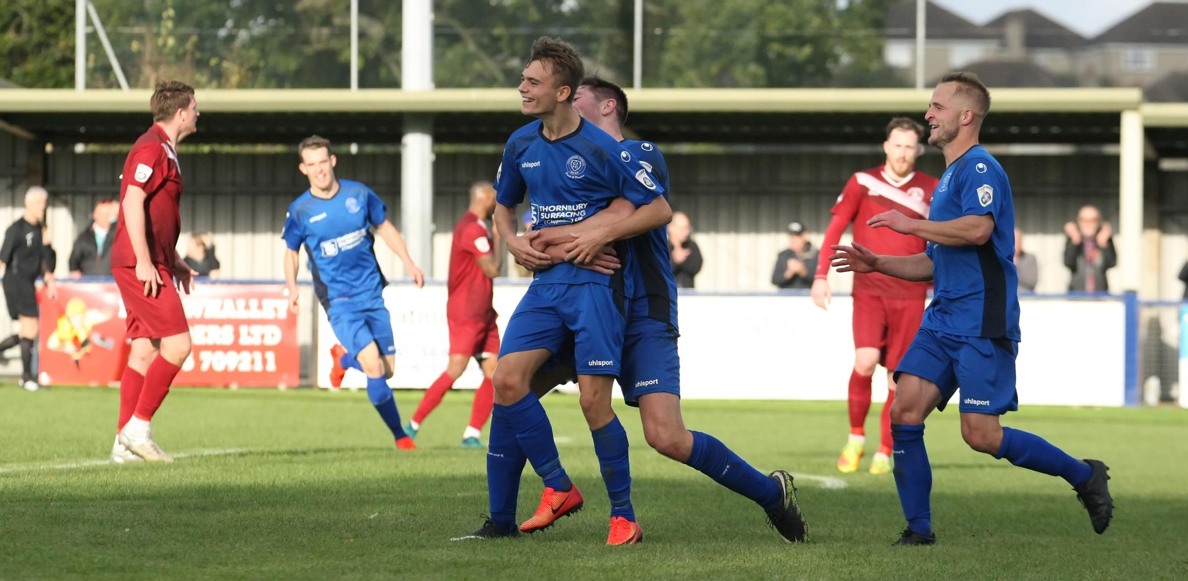 Scott Twine's loan spell at Chippenham Town is proving to be a successful one