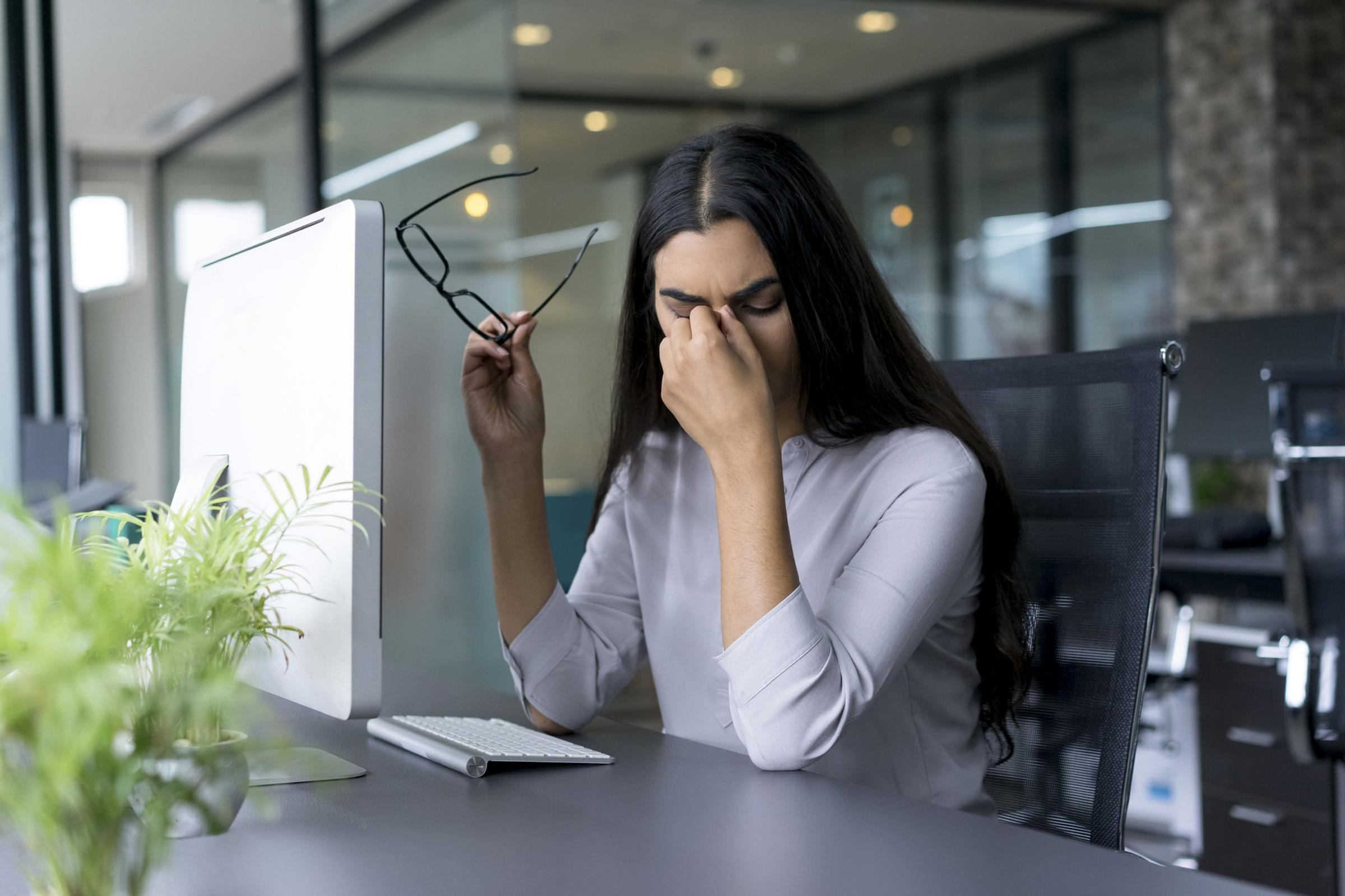 A Generic Photo of a woman suffering from stress. See PA Feature WELLBEING Stress Anxiety. Picture credit should read: PA Photo/thinkstockphotos. WARNING: This picture must only be used to accompany PA Feature WELLBEING Stress Anxiety.