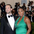 The Wiltshire Gazette and Herald: Alexis Ohanian and Serena Williams earlier this year (Aurore Marechal/PA)