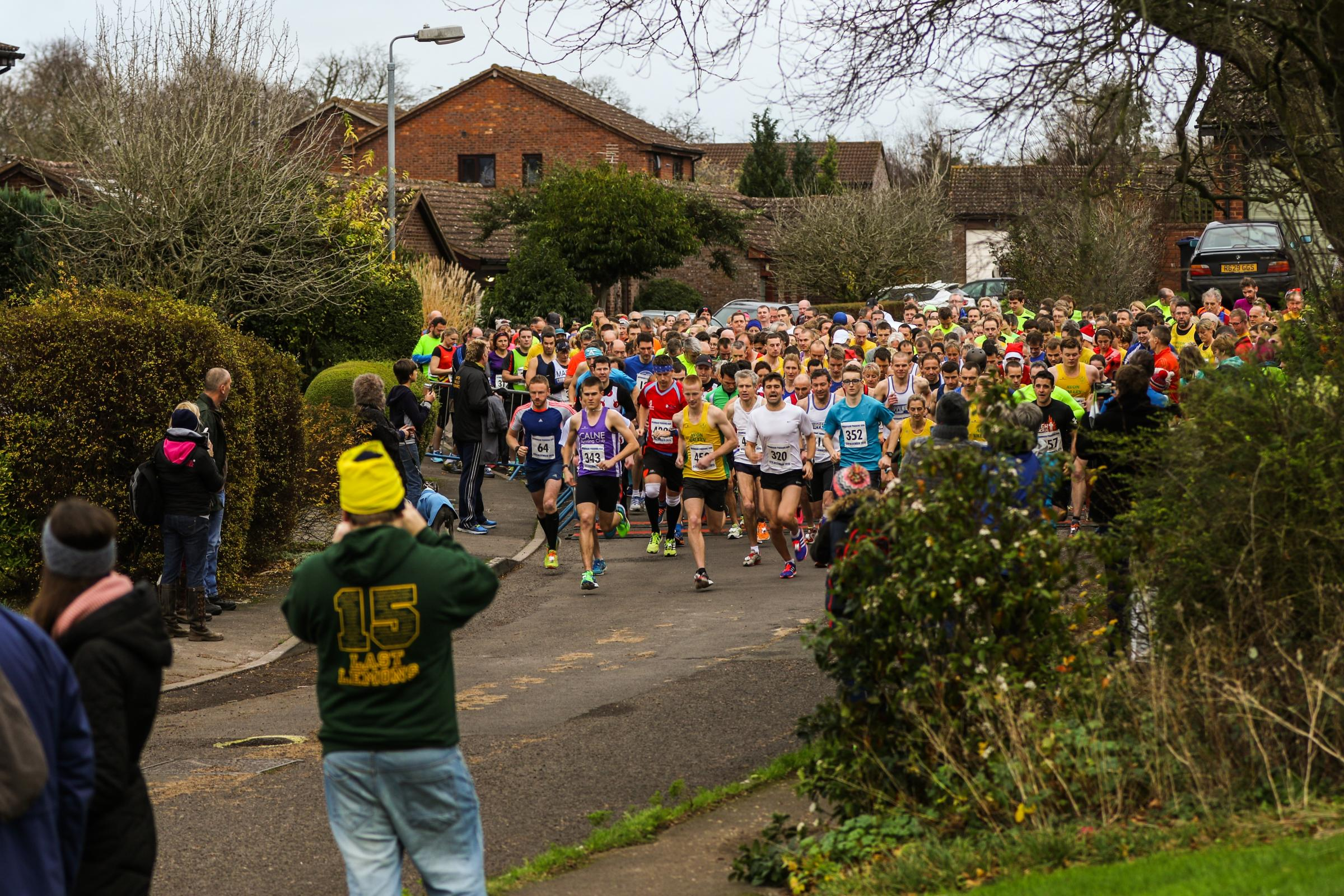 The Bromham Pudding Run in 2015