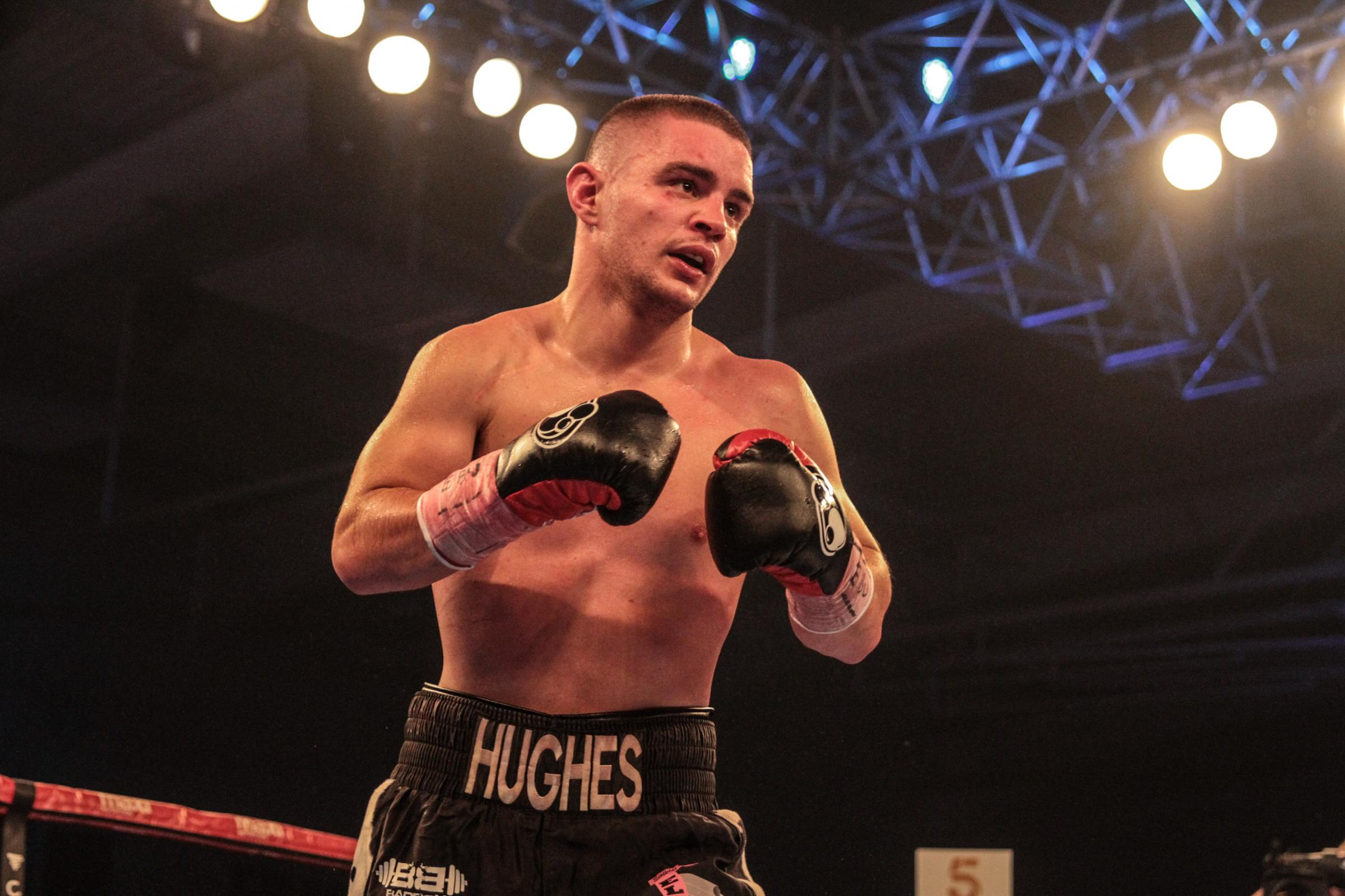 BOXING: Friday fight night alright for Joe Hughes despite bizarre end to bout