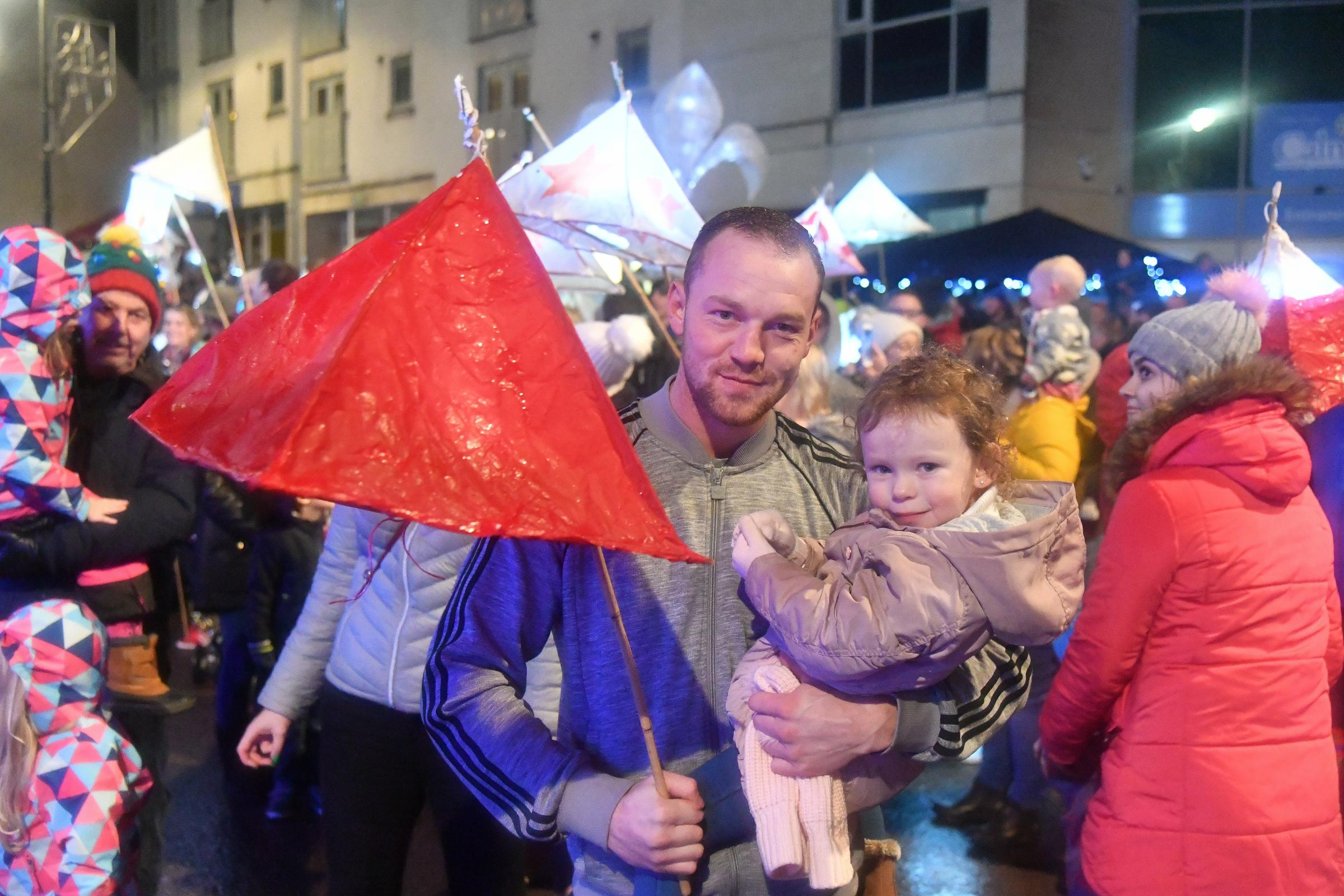 The annual Calne Lantern Parade
