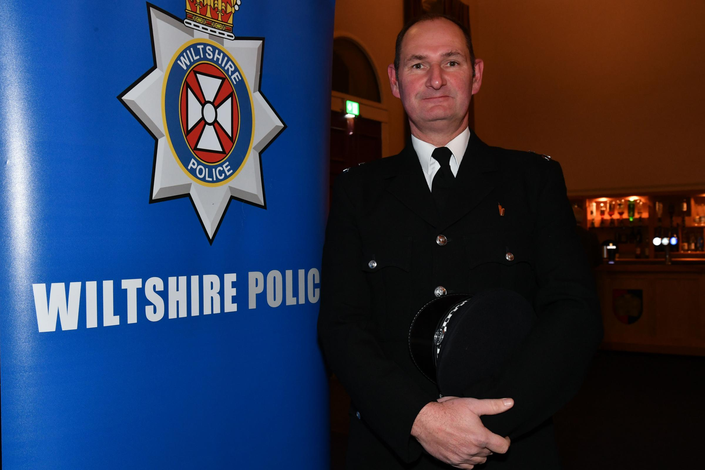 The Wiltshire Police Force Awards ceremony which took place at the Ceres Hall, Corn Exchange in Devizes on Tuesday evening.About to collect the award is PC James James Darvill. PS025.15 ends