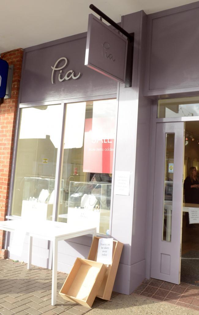Pia closes on Marlborough High Street | The Wiltshire
