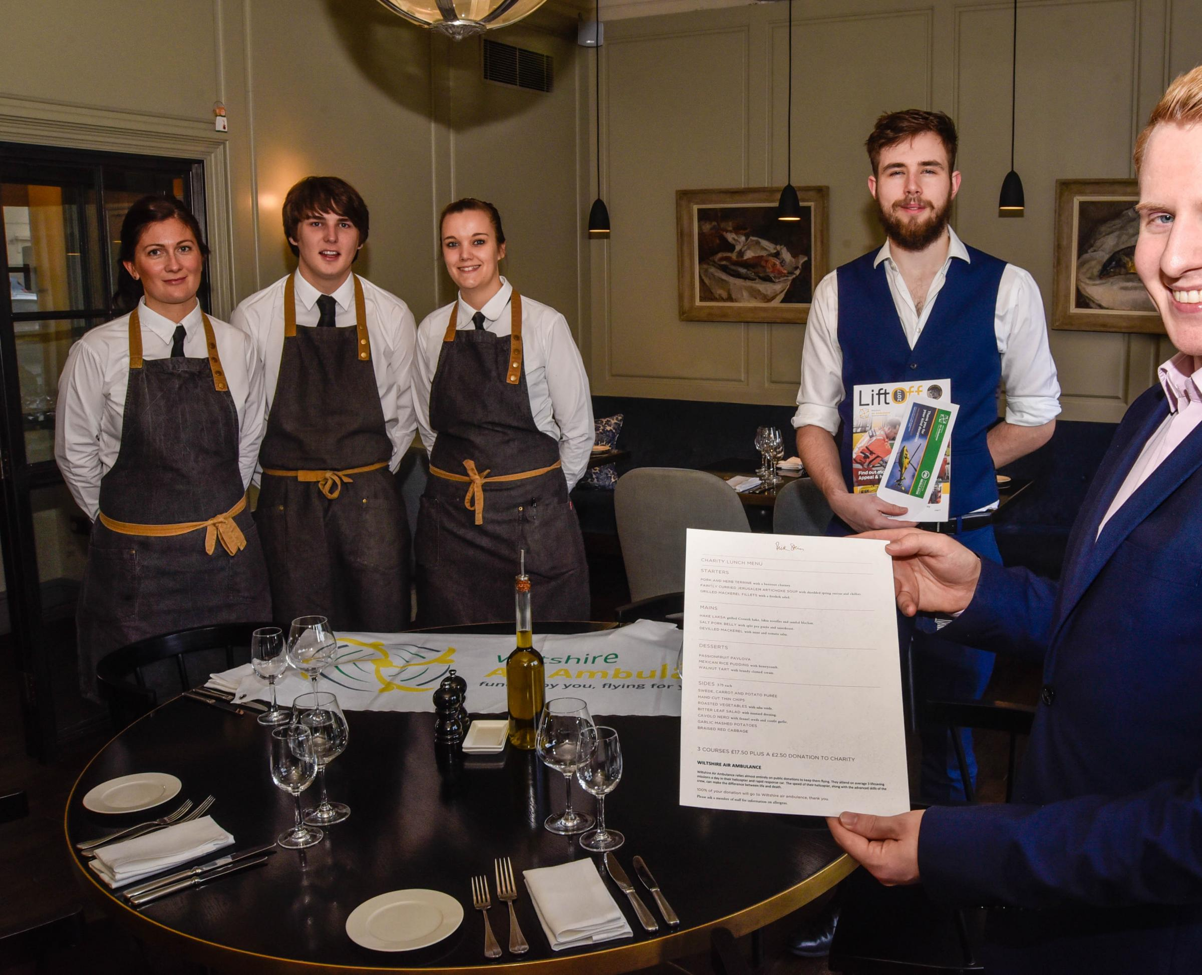 Hannah Phillips, Dan Cullen, Faith Johnson,  George Thomas and Callum Hird  Pic:www.gphillipsphotography.com  GP1150-2.