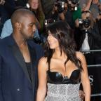 The Wiltshire Gazette and Herald: Kim Kardashian West and Kanye West arrive at the GQ Men of the Year Awards at the Royal Opera House, London.