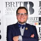 The Wiltshire Gazette and Herald: Alan Carr in the press room at the 2016 Brit Awards at the O2 Arena, London. PRESS ASSOCIATION Photo. Picture date: Wednesday February 24, 2016. See PA story SHOWBIZ Brits. Photo credit should read: Ian West/PA Wire