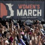 The Wiltshire Gazette and Herald: Thousands of people atttend the Women's March in Los Angeles (Jae C. Hong/AP)
