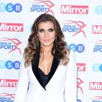 The Wiltshire Gazette and Herald: Kym Marsh attending the Pride of Sport awards at the Grosvenor House Hotel, London.