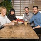 The Wiltshire Gazette and Herald: Mary Berry, Claudia Winkleman, Chris Bavin, Dan Doherty (Ray Burmiston/KEO/BBC)