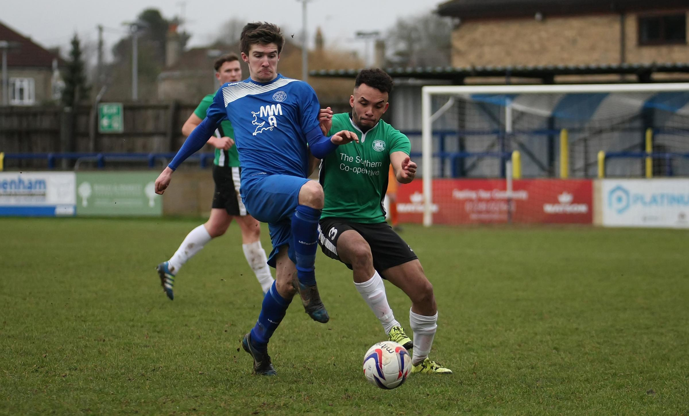 Lewis McCarron notched for Chippenham Park