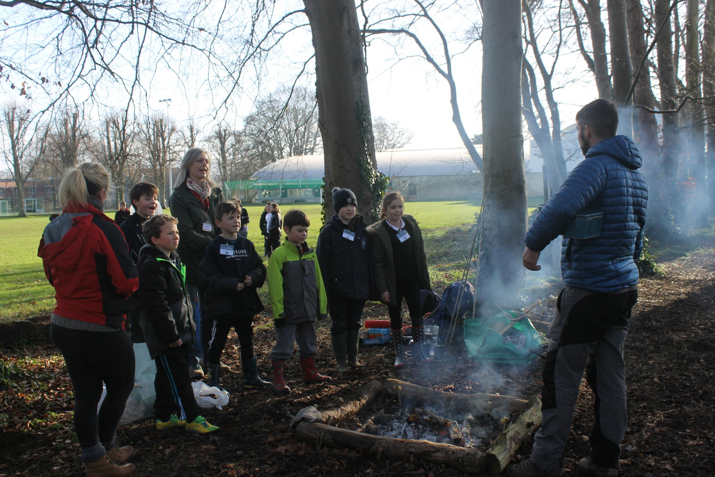 Primary school children learn lessons from great outdoors