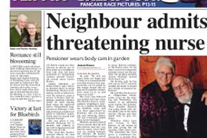 Couple refuse to be intimidated by neighbour from hell. Read more here...