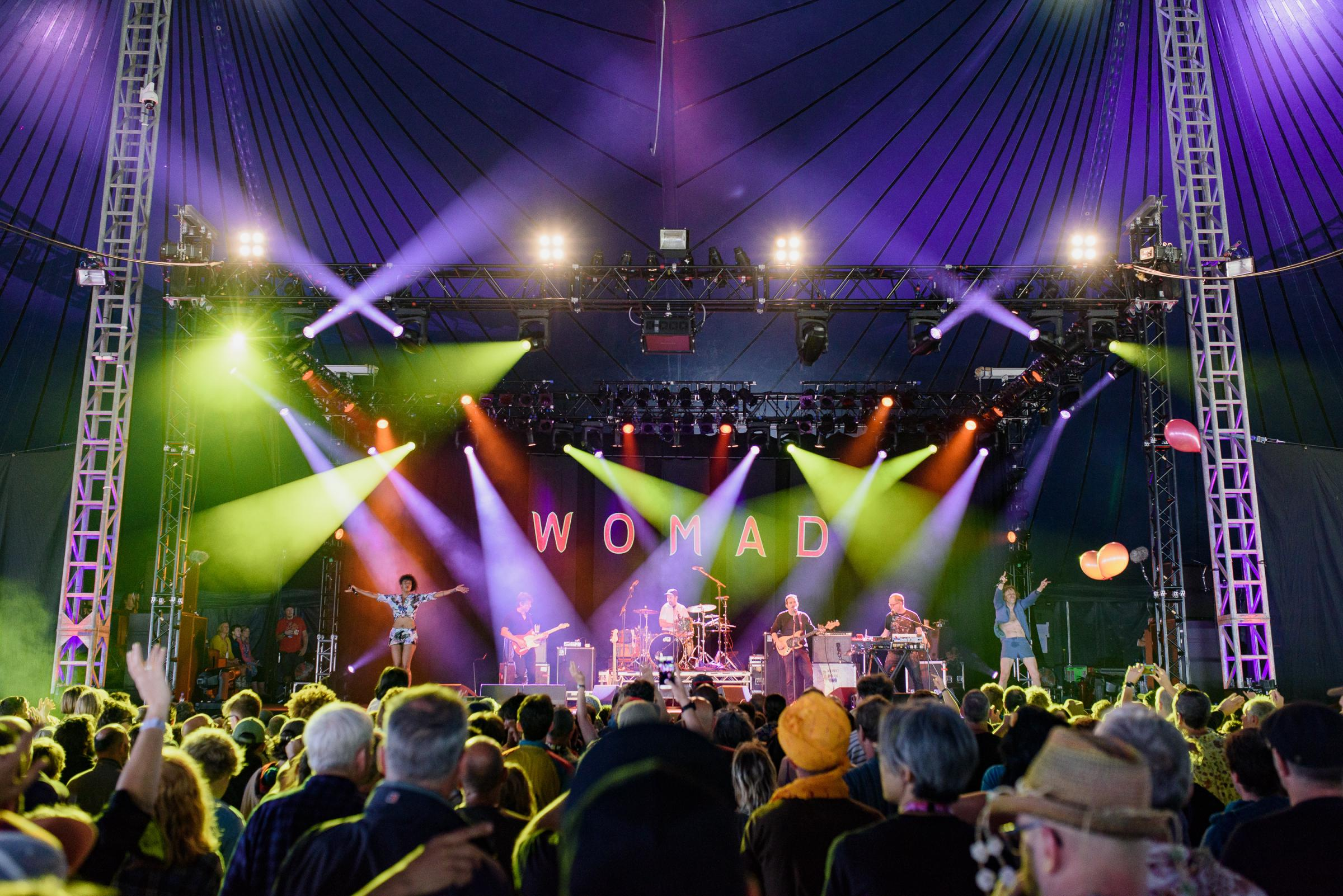 WOMAD 2018 has announced the first artists - Mike Massaro