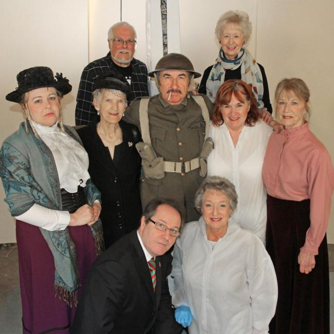 Athelstan players have won the Harold Jolliffe One Act Play Festival in Pewsey