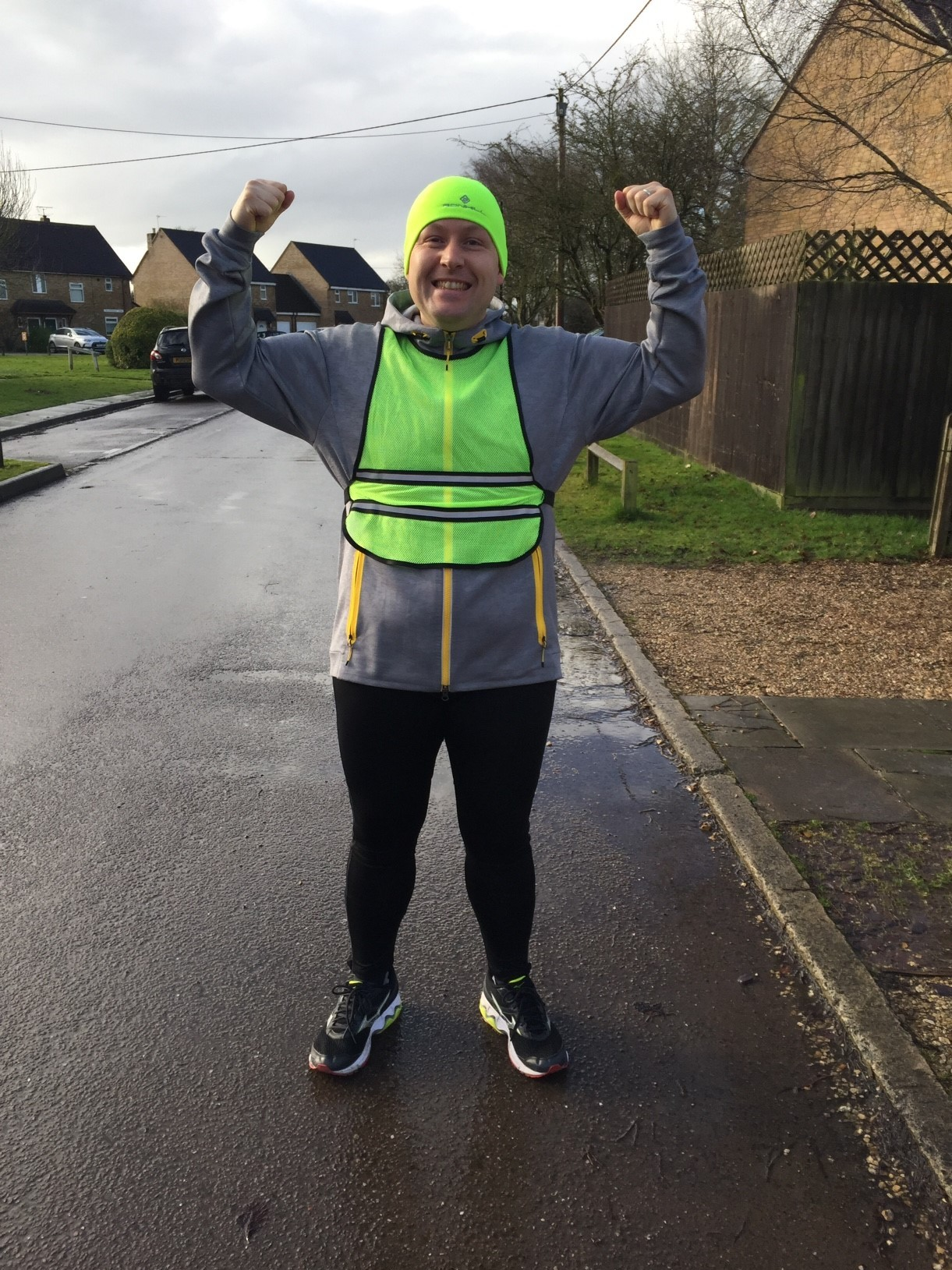 Richard Smith from Calne is running the London Marathon for the British Heart Foundation