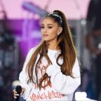 "The Wiltshire Gazette and Herald: Ariana Grande's partner Mac Miller said he was ""'very proud"" (Dave Hogan for One Love Manchester/PA)"