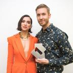 The Wiltshire Gazette and Herald: Dua Lipa and Calvin Harris are celebrating success (Conor McDonnell/Official Charts Company)