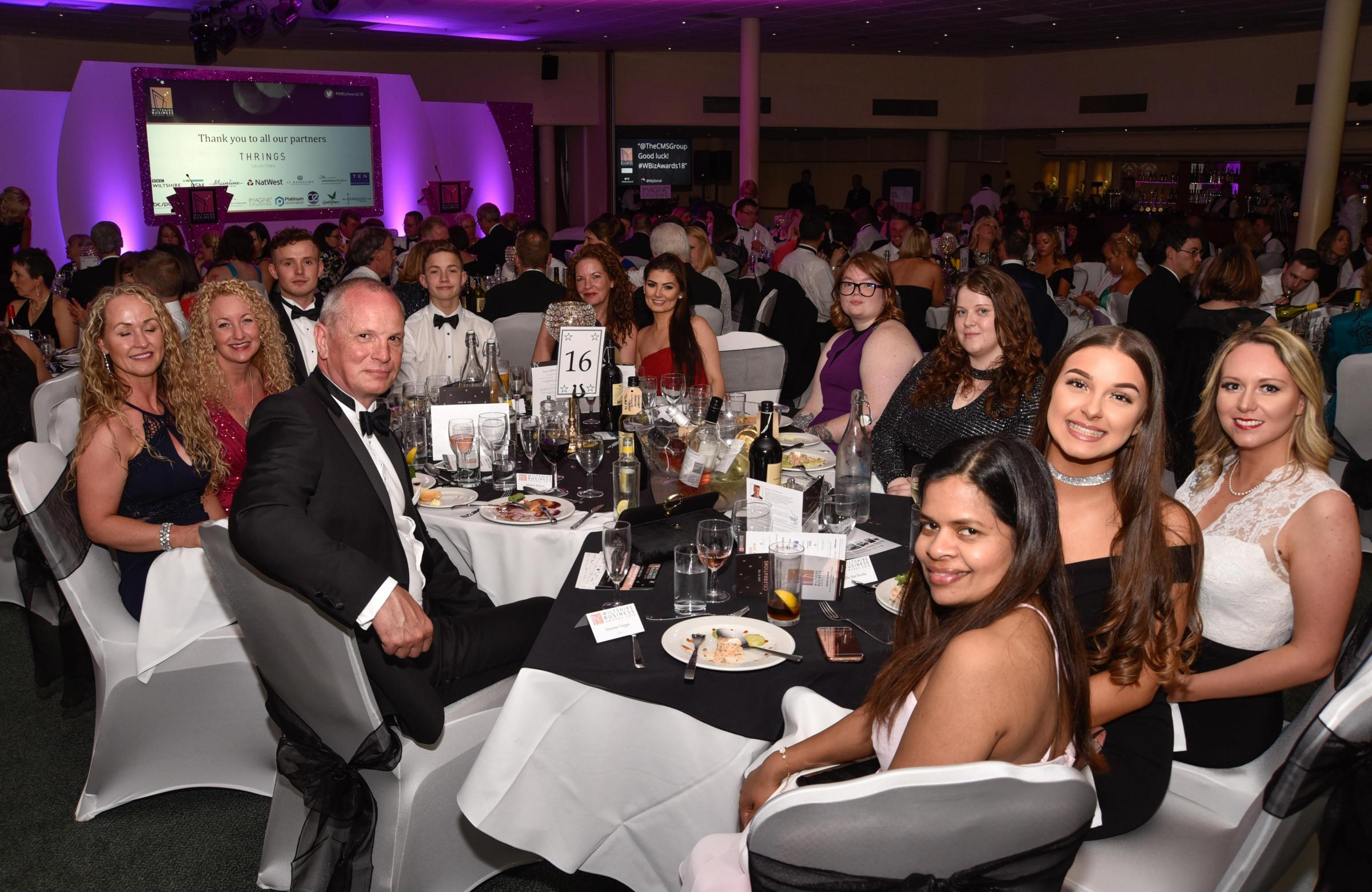 Businesses celebrated at Wiltshire Business Awards 2018