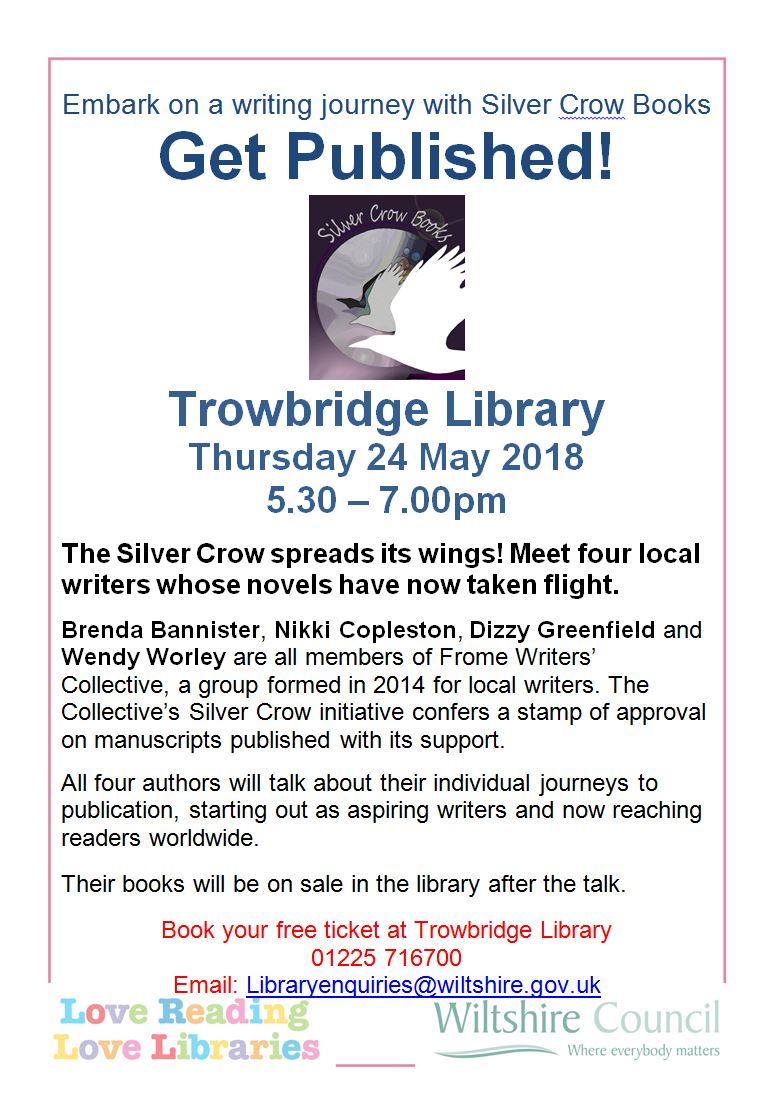 Get published with Silver Crow Books at Trowbridge Library