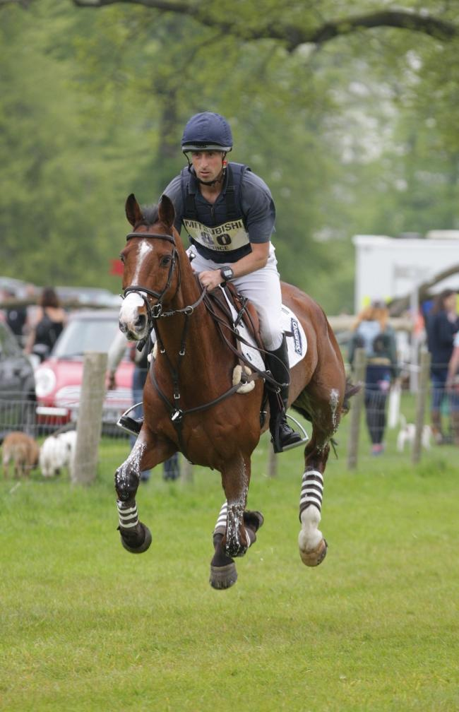 Tim PRICE - RINGWOOD SKY BOY. Badminton Horse Trials 2015. Picture: TIM CRIS.