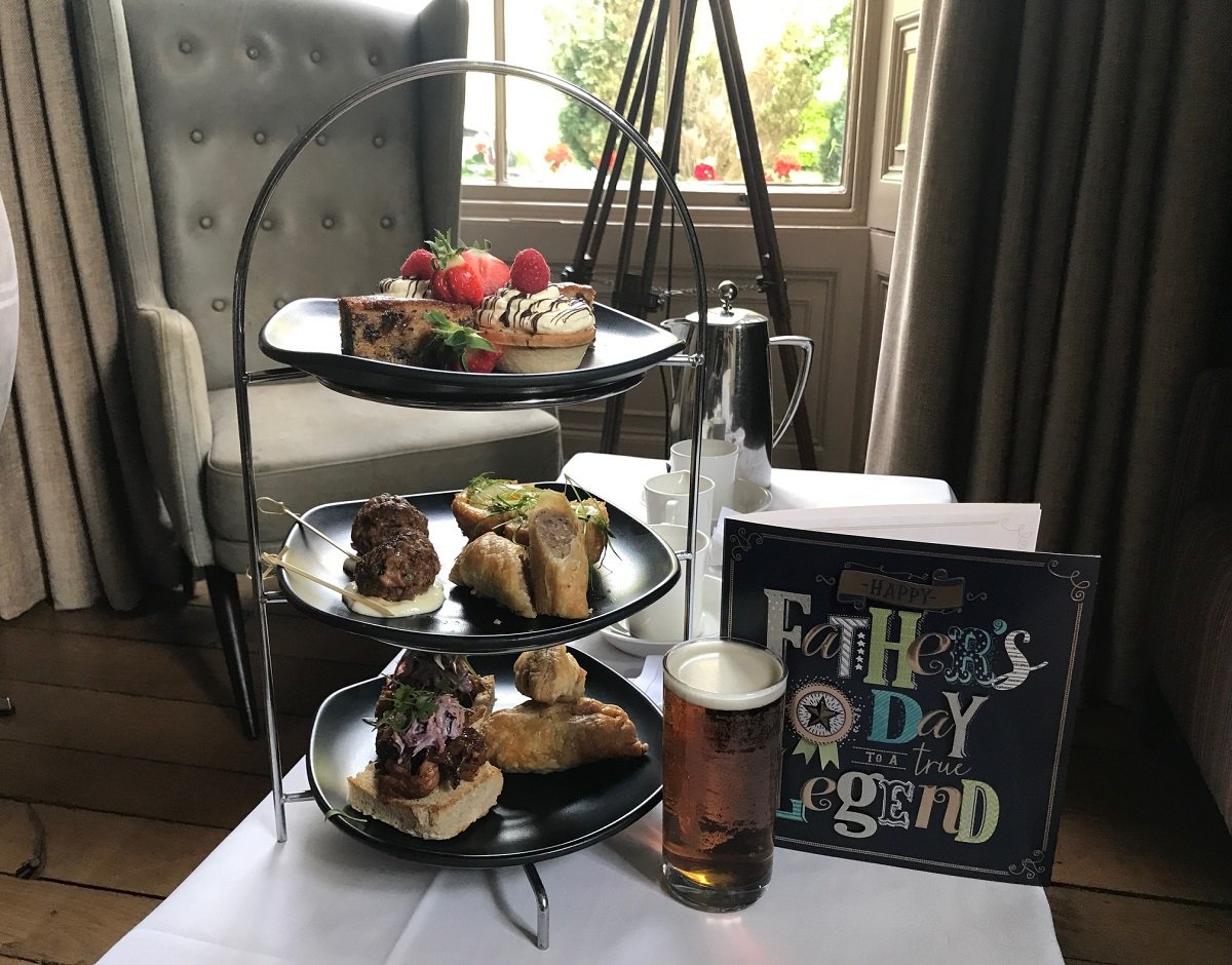 Bishopstrow Hotel - Father's Day Afternoon Tea