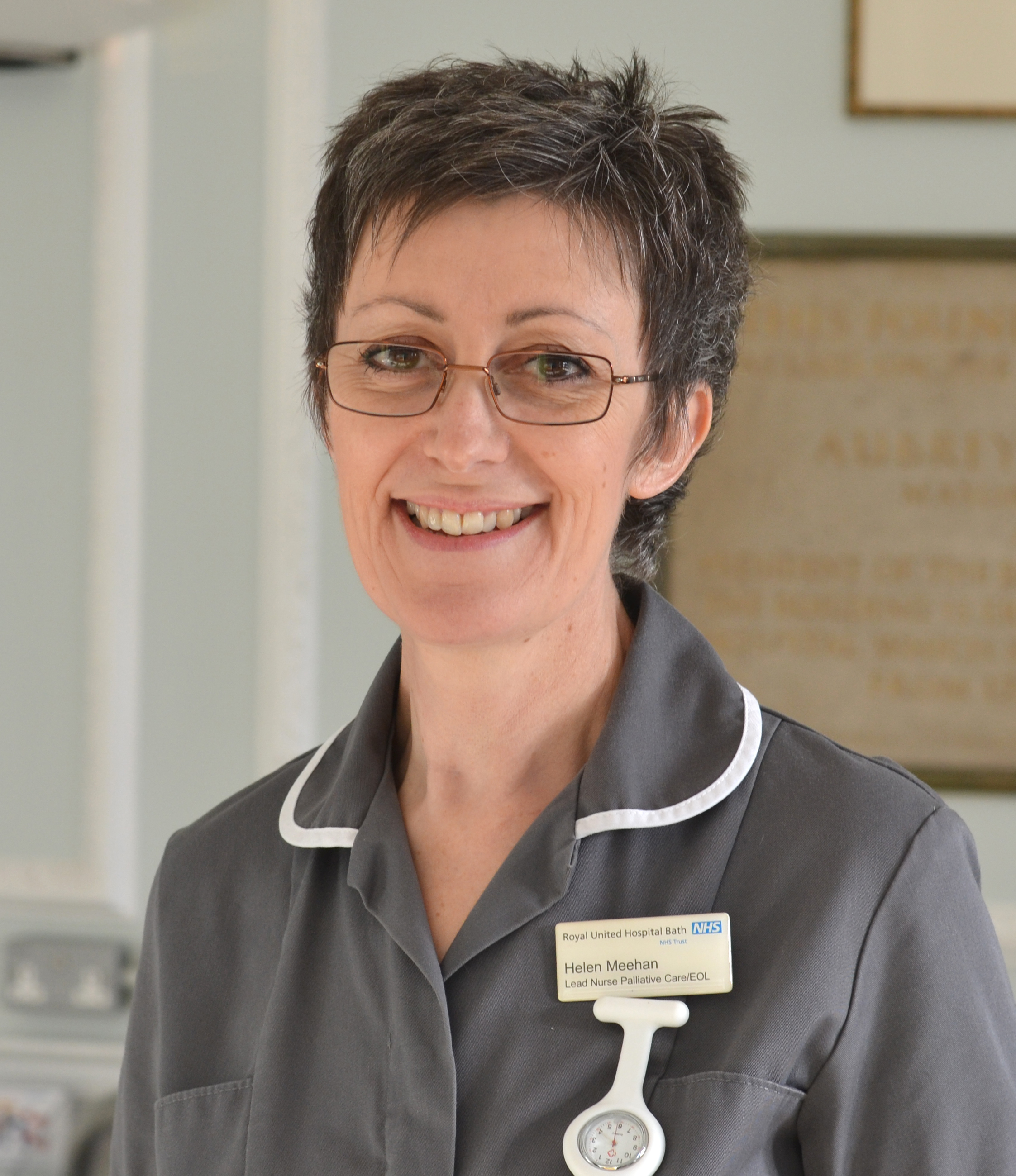 Helen Meehan, Lead Nurse Palliative Care and End of Life, at the Royal United Hospital in Bath.