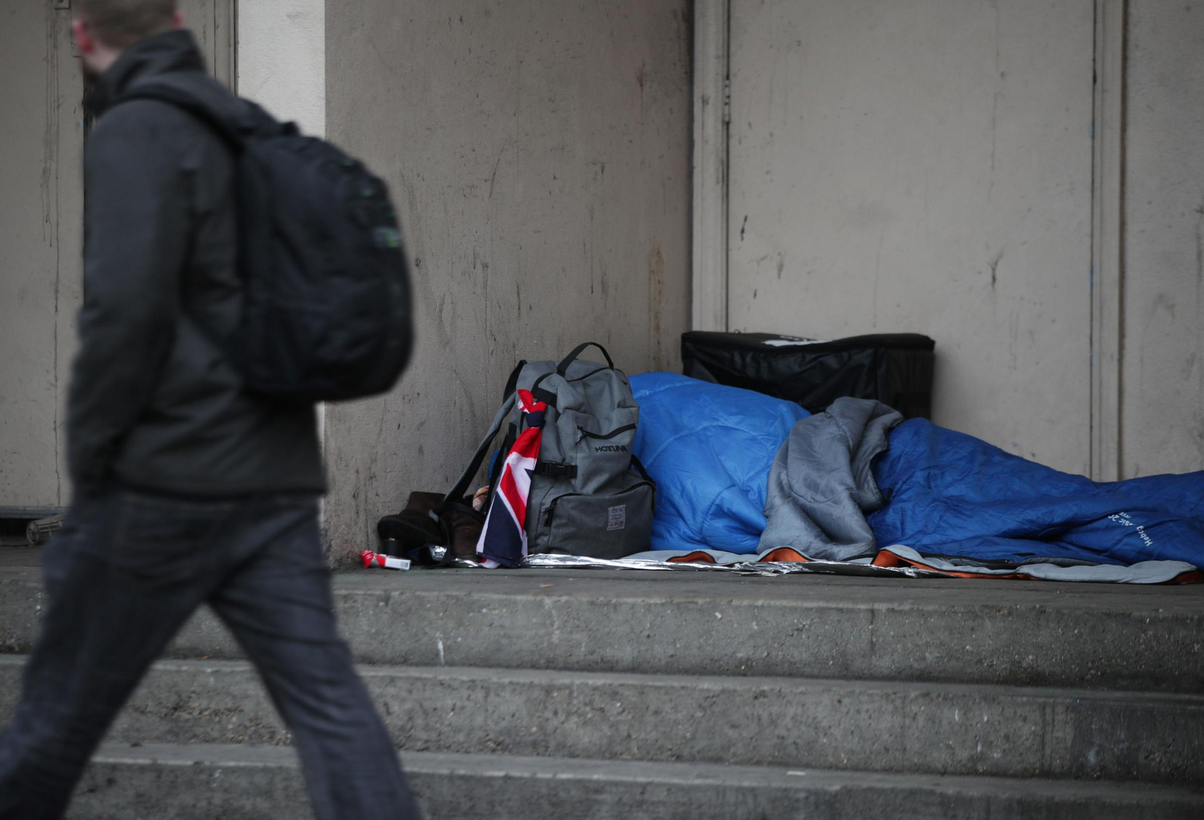 Campaigners have cautiously welcomed new cash to tackle rough sleeping. Picture: Yui Mok/PA Wire