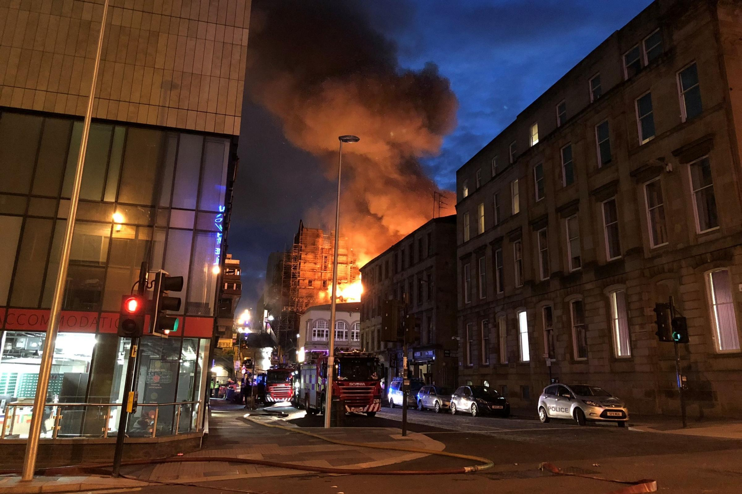 Devastating Mackintosh Fire Spreads To Nearby Properties Including Music Venue