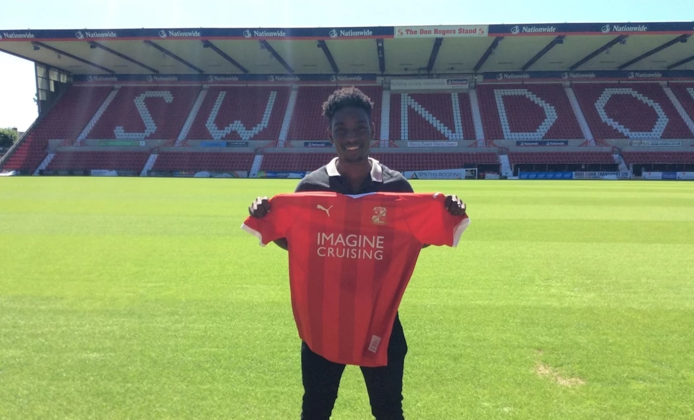 New Swindon Town signing Jermaine McGlashan. PICTURE: SWINDON TOWN FC