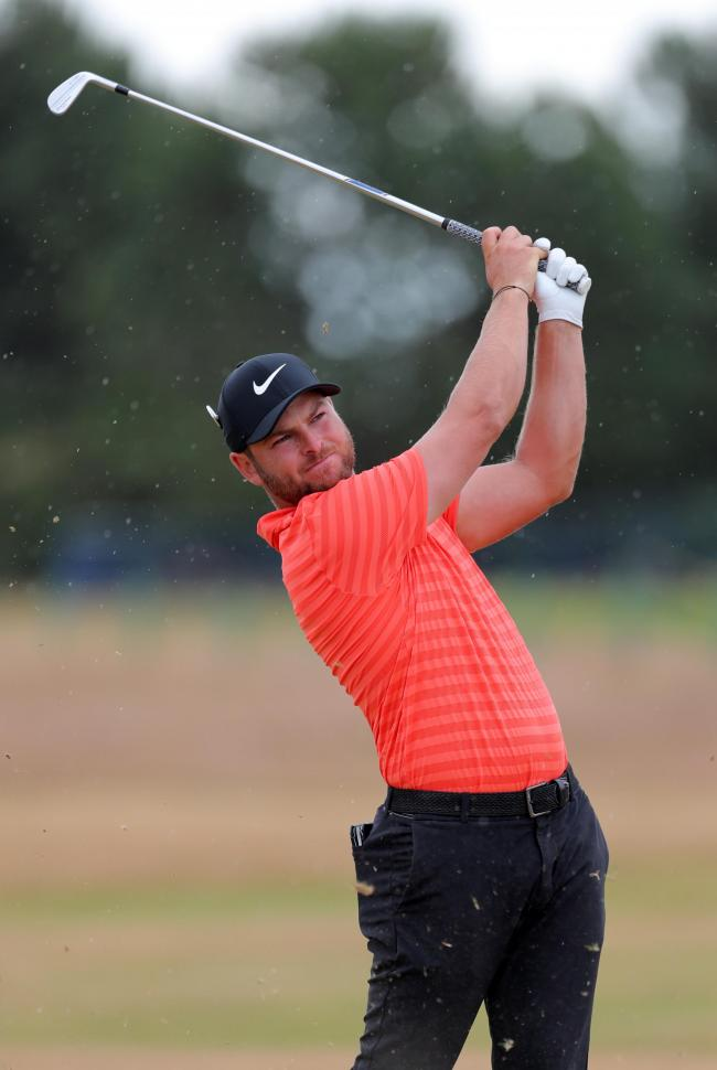 England's Jordan Smith during preview day three of The Open Championship 2018 at Carnoustie Golf Links, Angus..