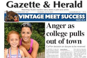 Anger as Wiltshire College Devizes campus set to close. Read more stories like this here...
