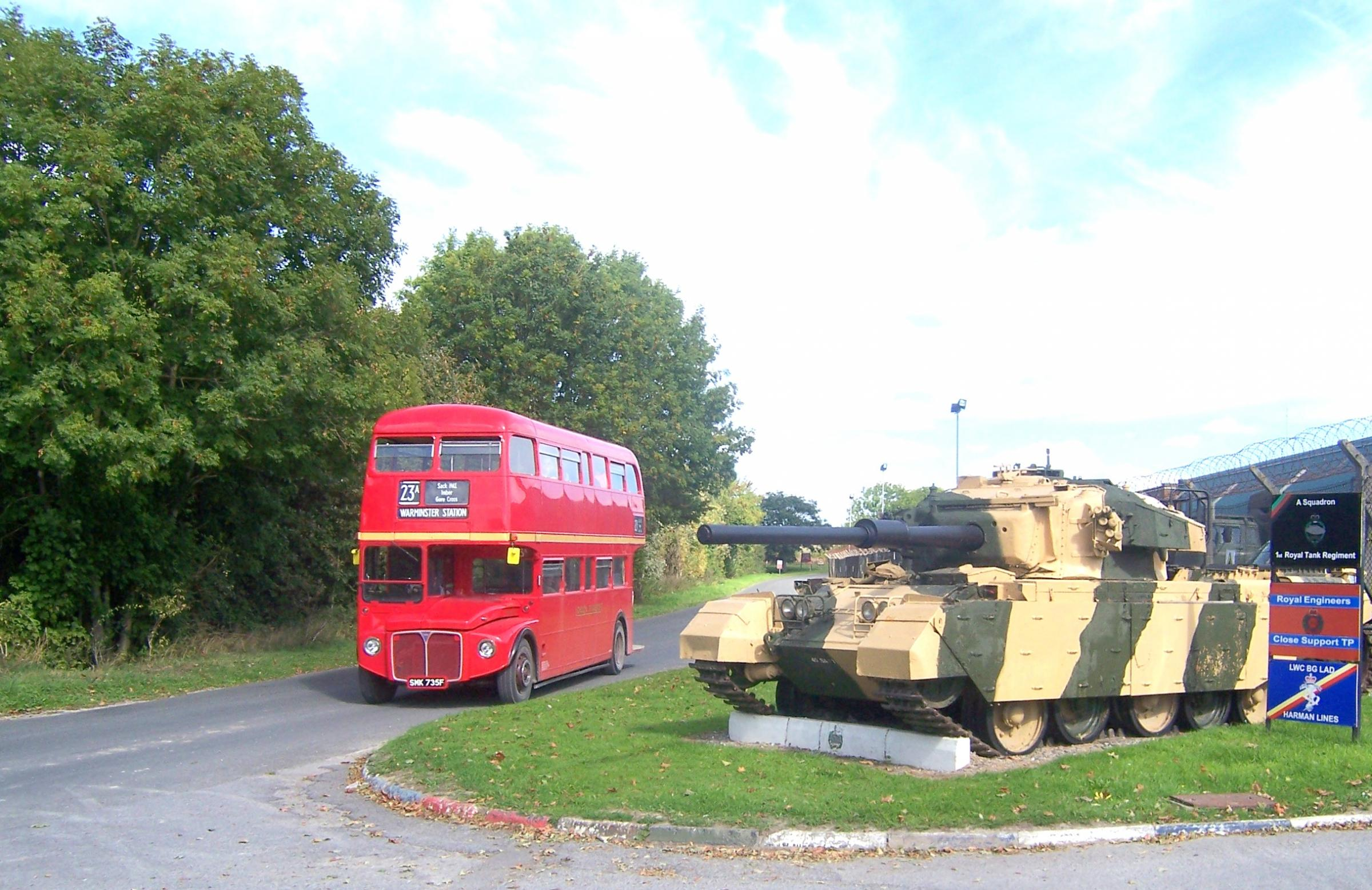 Imberbus: providing a classic bus service to the lost village of Imber