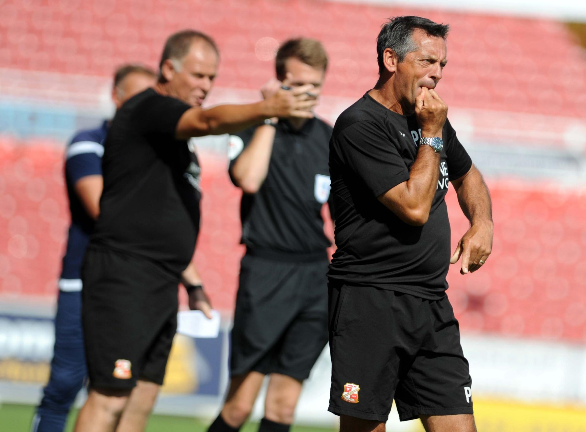 Phil Brown has vowed to field his strongest team tonight